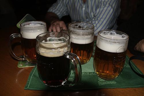 cervecita en Praga mayo 2008
