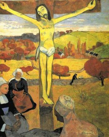 GAUGUIN_Cristo amarillo 1889