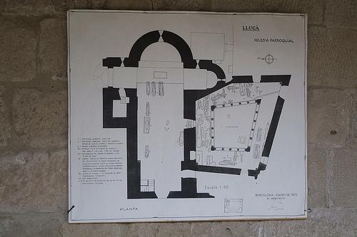 planta monasterio lluça