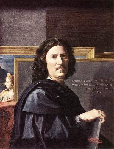 poussin autorretrato 1650
