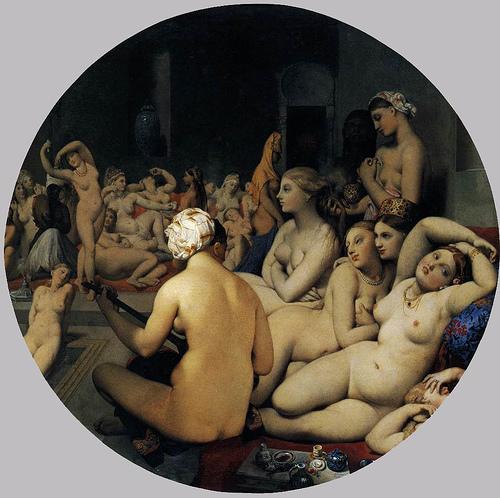 INGRES_El baño turco1862