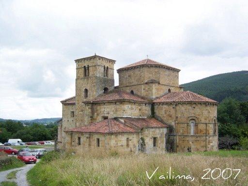Santa Cruz de Castañeda por la tarde